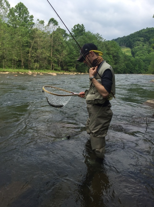 Fishing report north branch potomac river any water for Potomac river fishing report