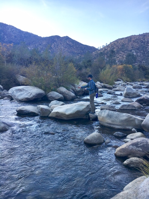 Fishing report kern river and sequoia national forest for Kern river fishing report